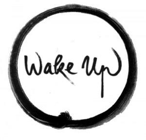 Wake Up calligraphy